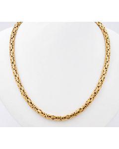 Königskette Halskette Kette 14 K Gelbgold 66,2 g. 60 cm