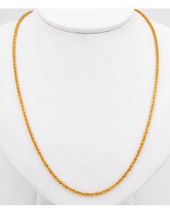 Halskette 18 K Gelbgold 8 g 45 cm