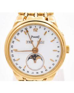 Piaget Triple Kalender Handaufzug  Unisex 18 K Gold Ref:15908 ca Bj 1990 103,4 Gramm