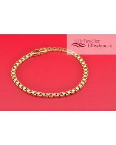 Armband 18K Gelbgold 21,5cm