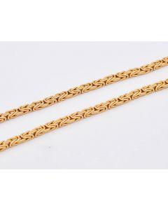 Königskette 18K Gelbgold 51cm